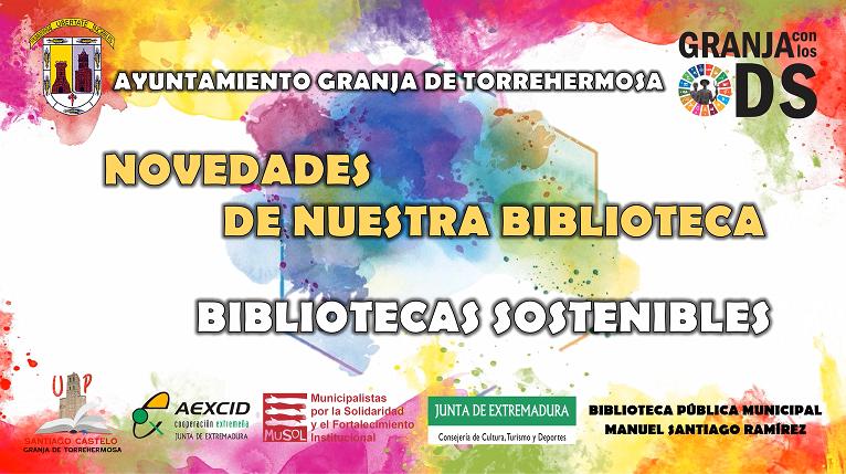 NOVEDADES BIBLIOTECA ODS